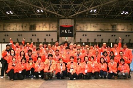 東京マラソン2012にて公益活動(無料ボランティア治療)を行いました!
