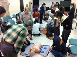 中期都委託 心肺蘇生+AED講習会