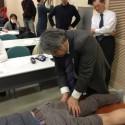 2月28日実施 刺鍼実技 「腸脛靭帯炎の治療」(元吉 正幸氏)