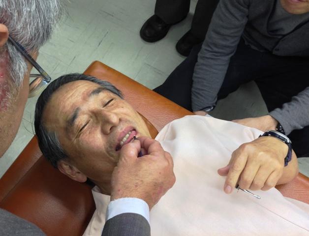 口内炎の灸