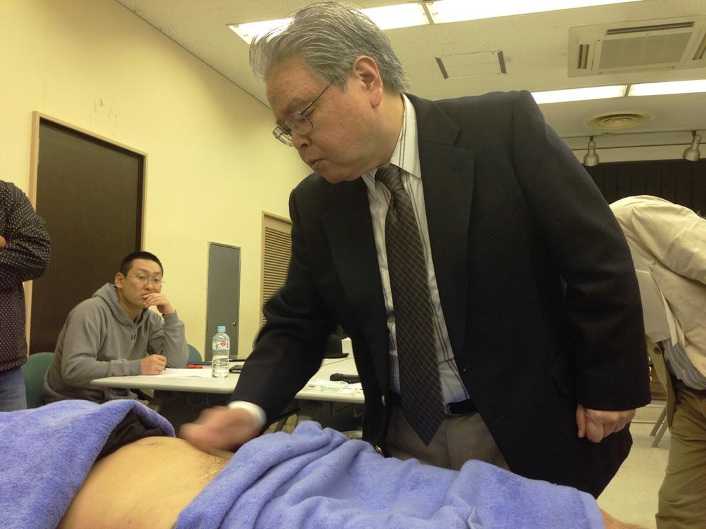 3月27日実施 臨床のコツ 『夜尿症への鍼灸治療』(加島 郁雄氏:千代田)