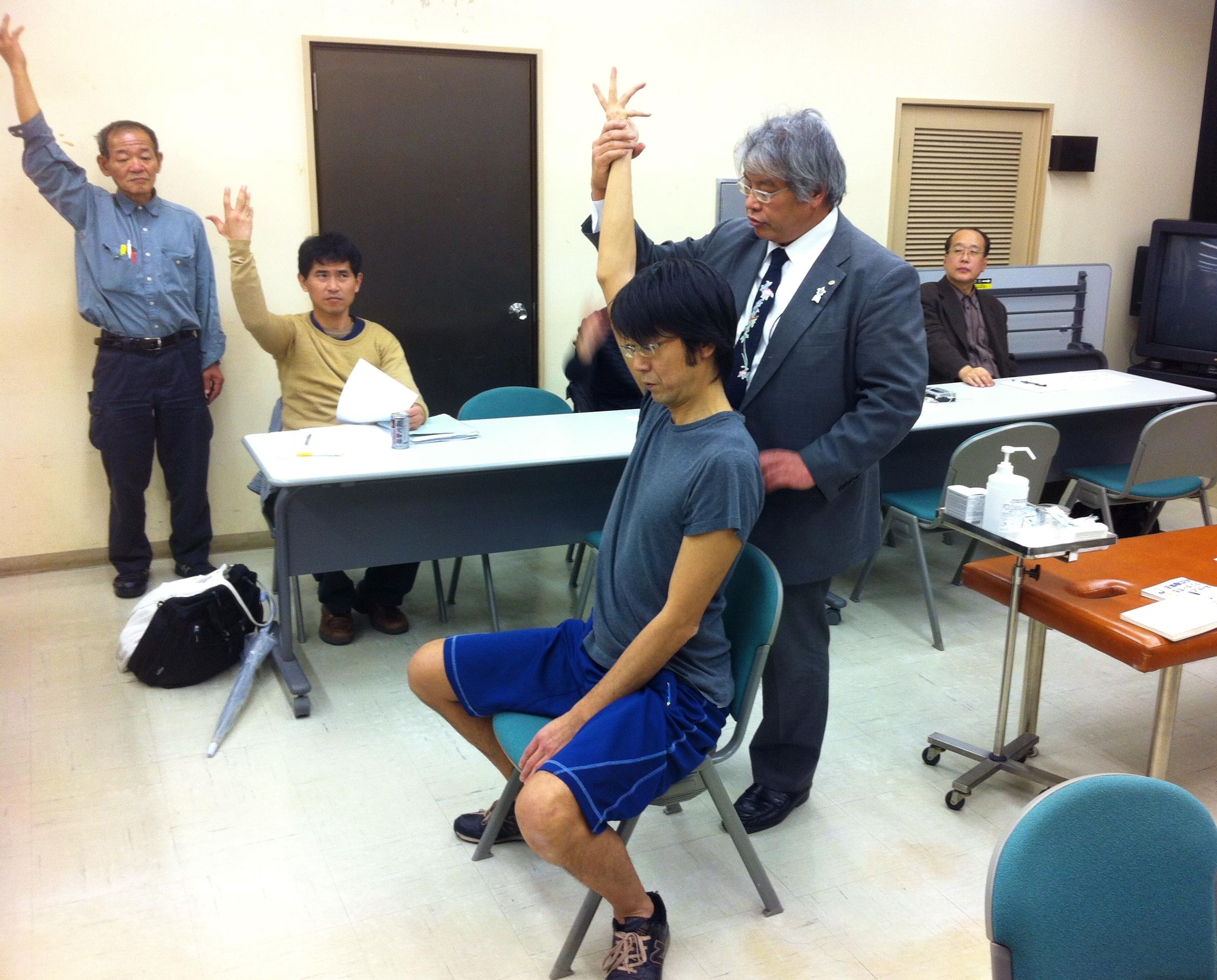 11月実施 特別症例検「操体法と鍼灸」 元吉 正幸氏 南上 亮氏