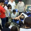7月2日実施:参加者全員の刺鍼実技講習
