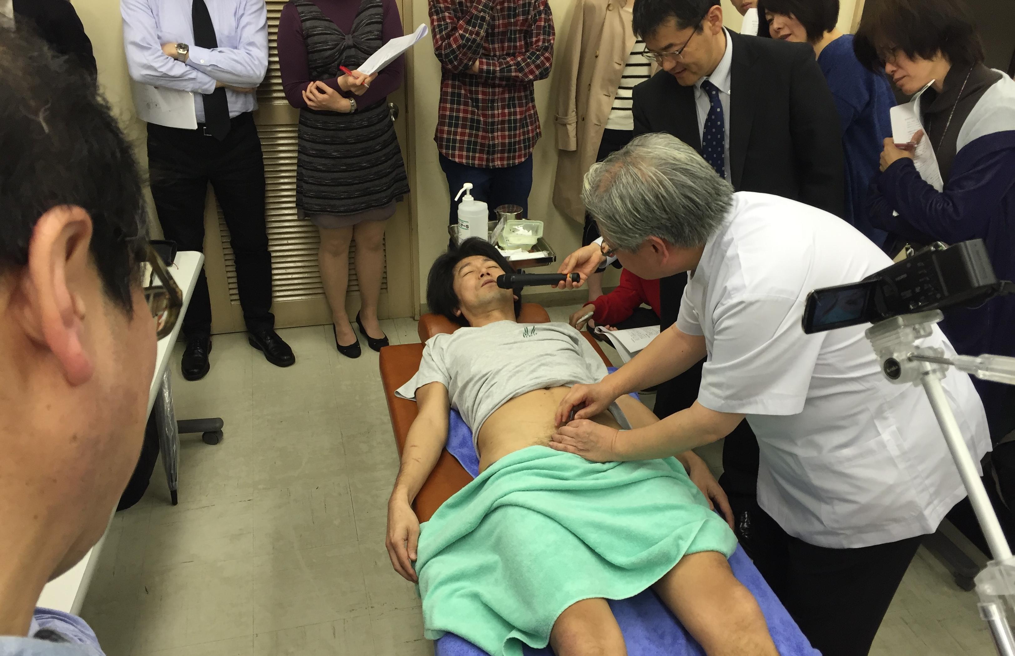 4月27日実施 臨床のコツ:「EDの鍼灸治療」加島 郁雄