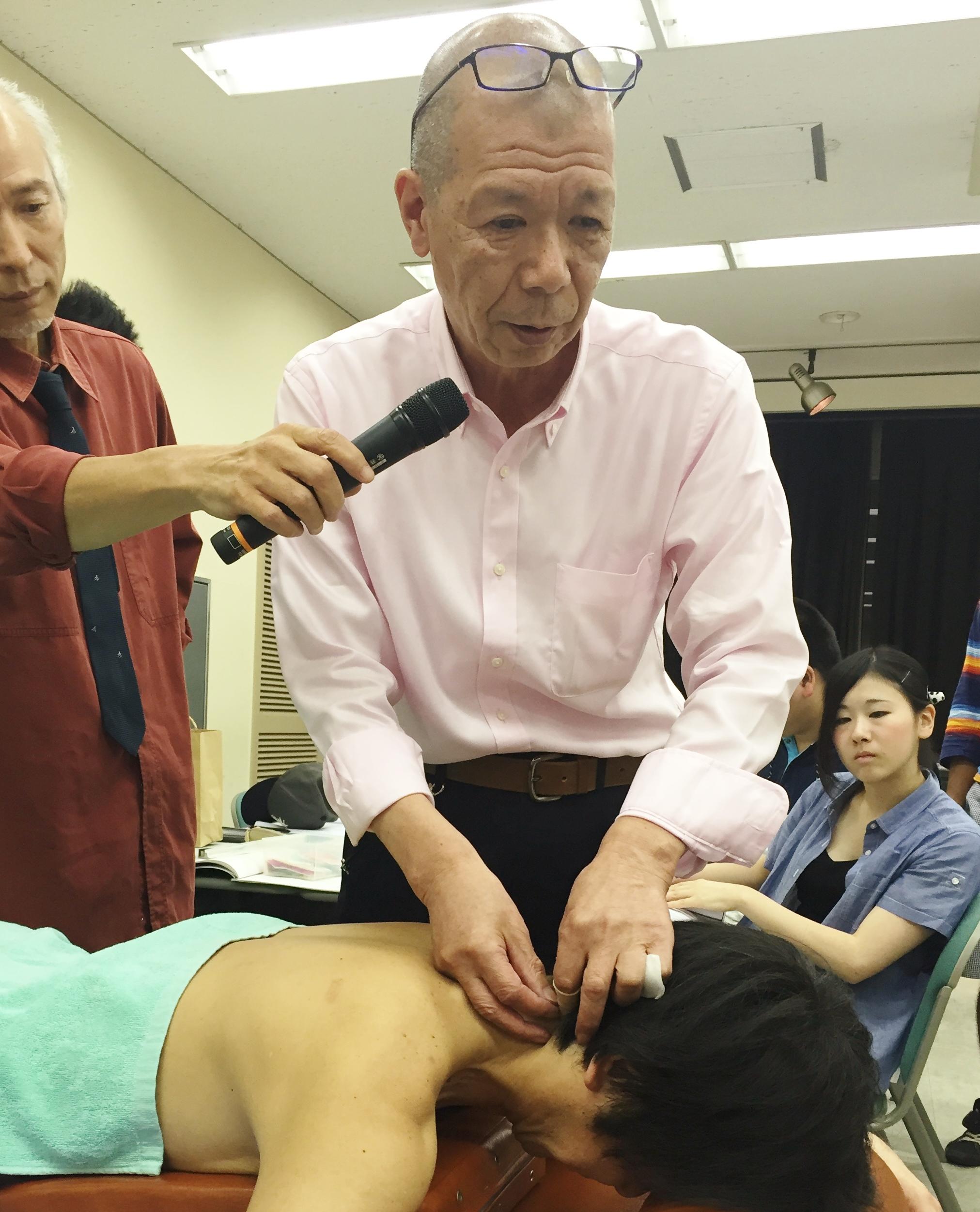5月26日実施 臨床のコツ:「三大頭痛の鑑別分類と鍼灸治療」小池 英義