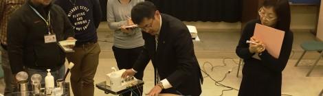 頚上肢痛 臨床デモンストレーション