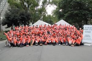 東京マラソン2017集合写真